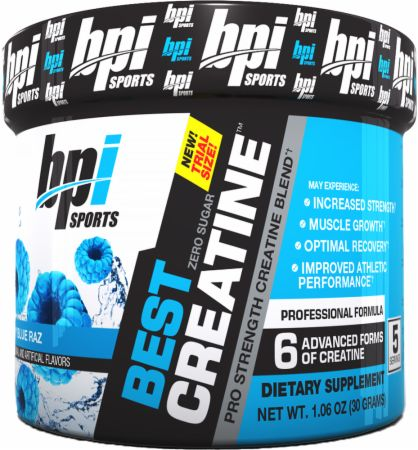 Creatine fitness supplement
