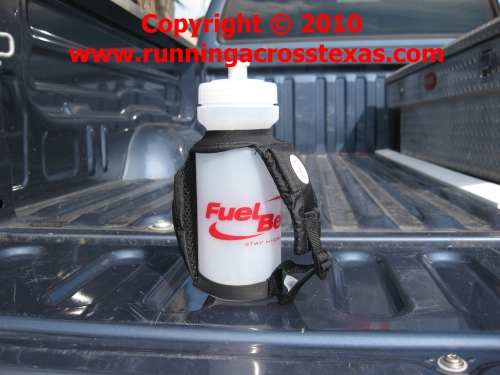 Fuel Belt Water Bottle; photo courtesy Kelly Smith