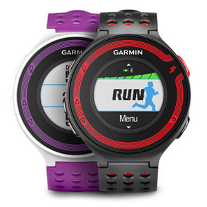 A Garmin Forerunner 220 GPS running watch