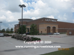 The LA Fitness Club in League City TX