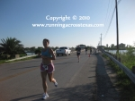 A top woman runner in Seabrook