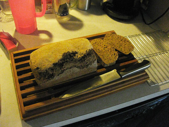 Quinoa and steel cut oatmeal bread; photo © 2014 KSmith Media, LLC