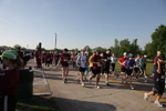 Starting line of Yuri's Night Houston 5k